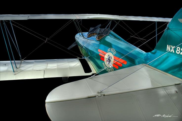 Aussie biplane