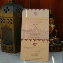 Fill Your Upcoming Nuptials With Bright, Bold And Indian Tradition With  These Recycled Shantih Wedding Invitations.