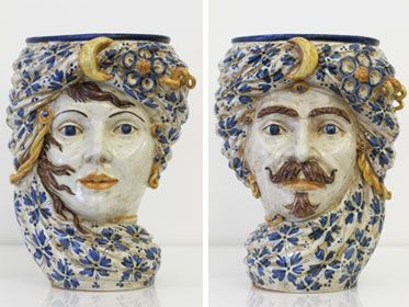 Nicolò Morales, ceramica, Caltagirone.