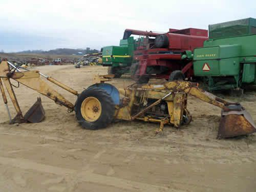 Oliver 550 Parts : Oliver tractor dismantled for used parts call