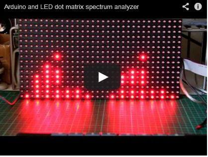 Arduino and the MSGEQ7 Spectrum Analyzer