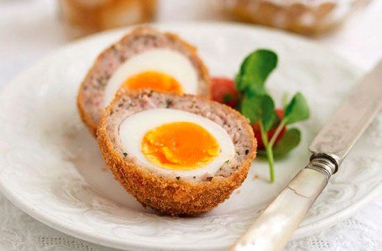 Яйца по‑шотландски, пошаговый рецепт