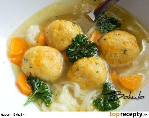 Mrkvové knedlíčky do polievky