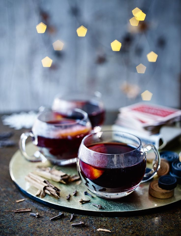 Get that warm and fuzzy feeling with a little help from our traditional mulled wine