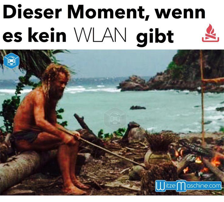 Dieser Moment, wenn es kein WLAN gibt..