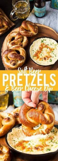 These Soft Beer Pret These Soft Beer Pretzels with Beer Cheese...  These Soft Beer Pret These Soft Beer Pretzels with Beer Cheese Dip are soft and fluffy pretzels with a cheesy dip. Perfect for game day parties or any time you need a snack. #ad Recipe : http://ift.tt/1hGiZgA And @ItsNutella  http://ift.tt/2v8iUYW