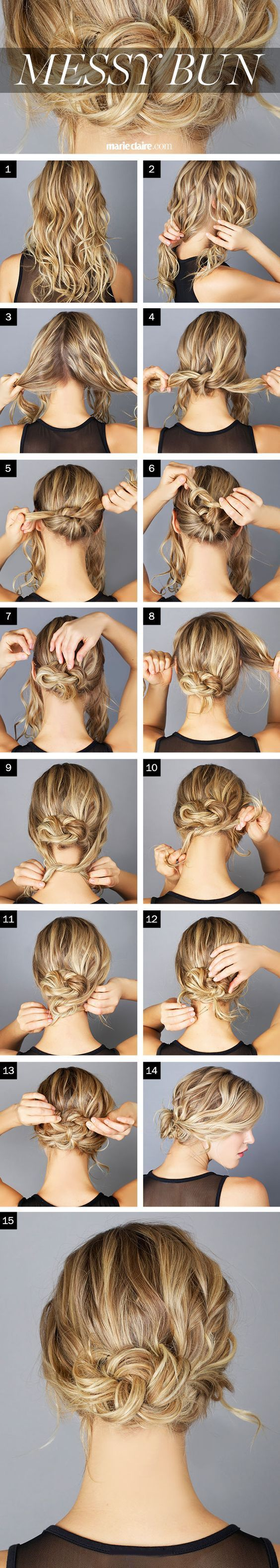 21 Easy Messy Bun Tutorials For The Perfect Disheveled Look