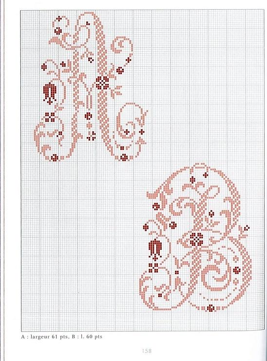 (1) Gallery.ru / Foto # 88 - Belles Lettres au point de croix - logopedd