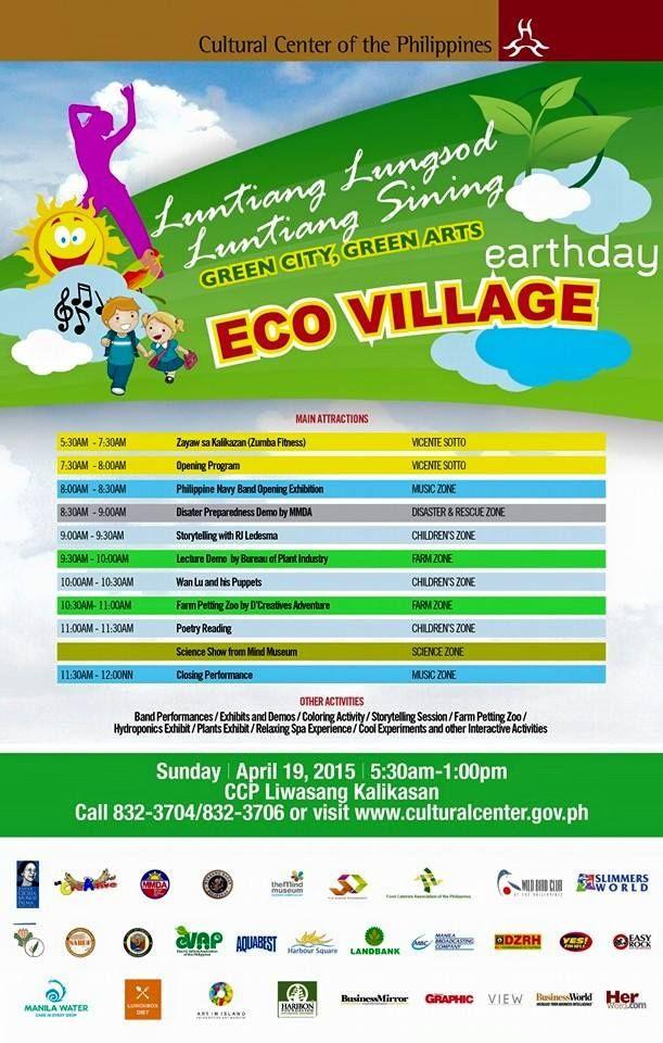 Zayaw Sa Kalikasan - Earth Day 2015 Celebration