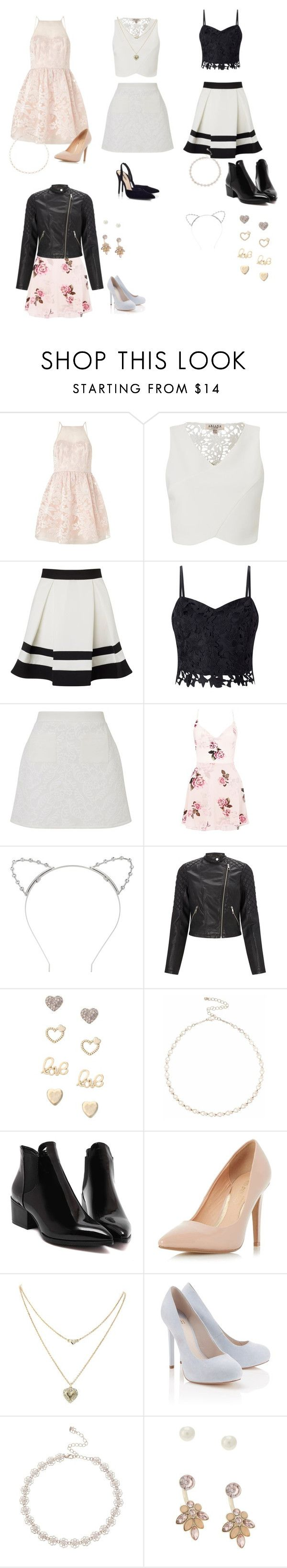 """""""Adriana Grande collection (1)"""" by vivi-603 on Polyvore featuring Lipsy and Dorothy Perkins"""