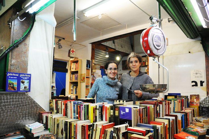 La Casquería [LQ] Libros al Peso - Mercado de San Fernando