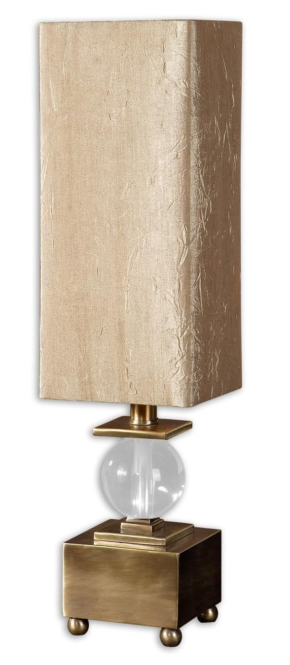 French buffet lamps - Ilaria Transitional Bronze Buffet Lamp By Uttermost