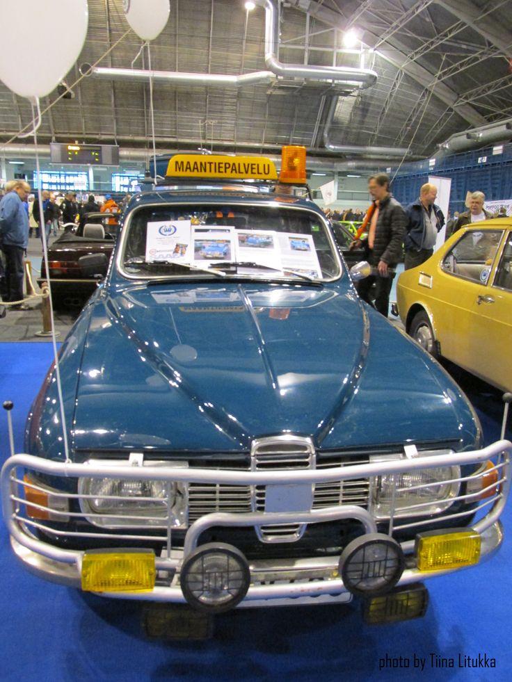 Team Ahma´s car, Finnish TV series, Classic Motorshow 2.5. 2015 in Lahti, Finland