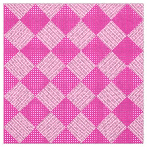 Candy Floss Pink White Faux Patchwork Pattern Fabric: up to $27.95 per yard http://www.zazzle.com/candy_floss_pink_white_faux_patchwork_pattern-256401364777437653?rf=238041988035411422&tc=pintw