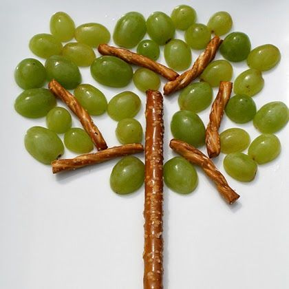 Adorable snack for when we talk about our family tree!