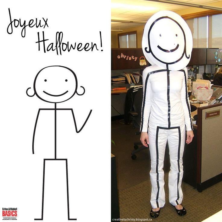 Happy Halloween!  Sketch Costume | Crites & Riddell Montréal