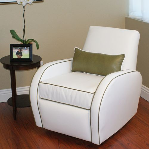 Snow and Moss Allure Adult Recliner by Little Castle & 64 best Stylish Gliders images on Pinterest | Nursery gliders ... islam-shia.org