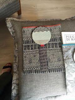 book-à-porter realizzato con tessuto Rubelli Ducale e Fa-Vento in seta di vecchio kimono giapponese.