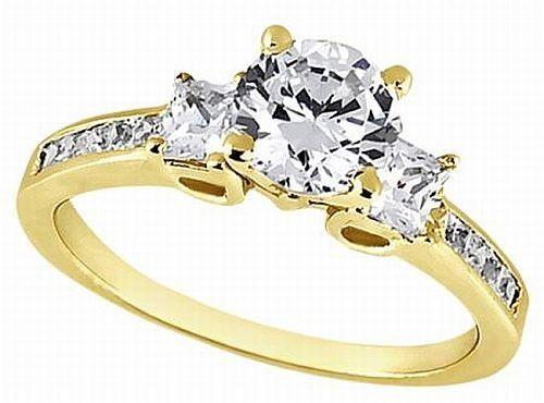 Princess Cut Diamond Engagement Rings Gain Popularity