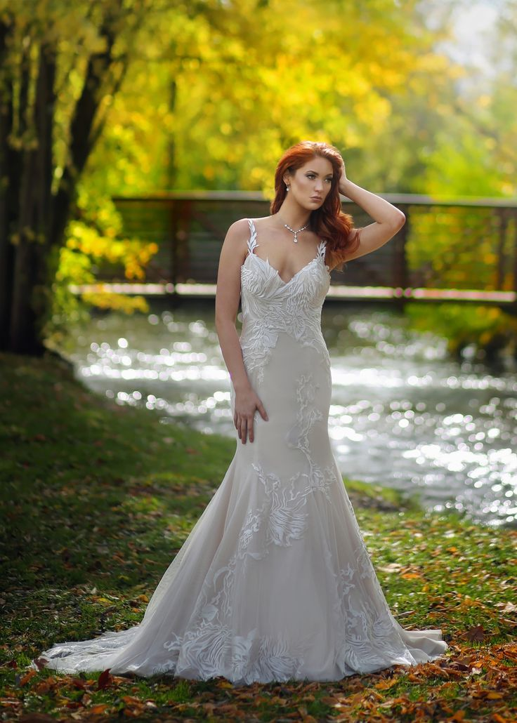 Marisa Bridals Fit And Flare Lace Wedding Dresses From Solutions Bridal In Orlando Florida