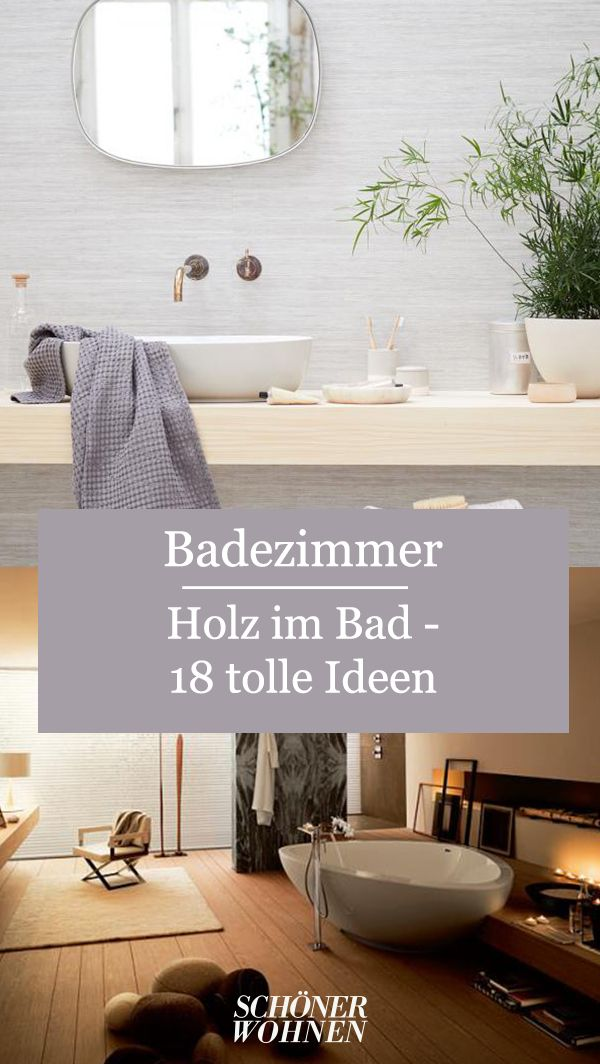 Holz Im Bad In 2020 Minimalistische Bader Badezimmer Badezimmer Holz