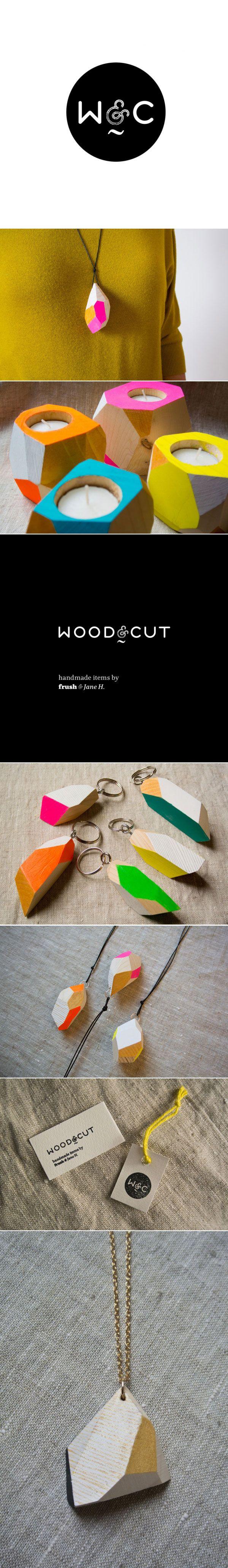 Branding for Wood&Co via iamthelab.com