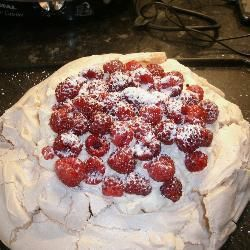Easy Pavlova @ allrecipes.co.uk