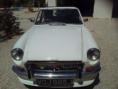 eBay: eBay: MGB GT White 1970 Overdrive Model