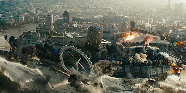 سقوط لندن فيلم يحم ل الشرق الأوسط مسؤولية الإرهاب سينماتوغراف London Has Fallen Morgan Freeman London