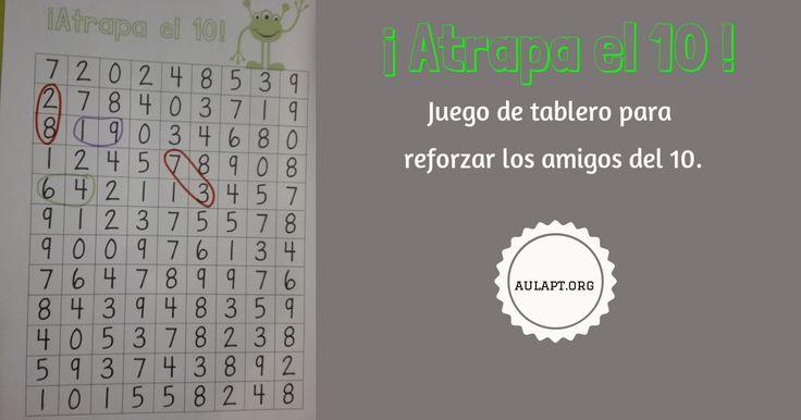 ATRAPA EL 10. JUEGO DE TABLERO