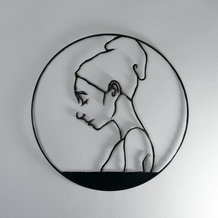 Sleeping Beauty Vinyl Wall Decoration