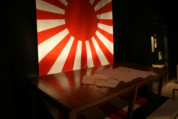 The table on which Lieutenant General Arthur Percival, the British commander in Singapore, surrender to the Japanese on 15th February 1942.