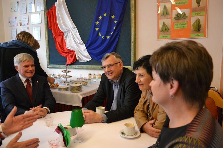 """https://flic.kr/p/21DbJKj   """"Dzień Europejski"""" – podsumowania projektu.   Współfinansowany w ramach programu Unii Europejskiej Erasmus+"""