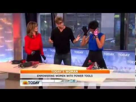 Today Show: Feel the Power! Using Power Tool Tips for Projects with Eric Stromer from Home Wizards - Nationally Syndicated Radio Show. Improve Your Home. Improve Your Life www.yourhomewizards.com