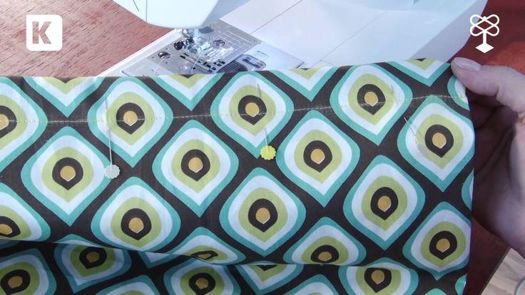 Como fazer: Bolsa toalha