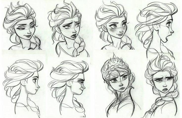 ...  Pinterest  Disney, La reine des neiges et Expressions du visage