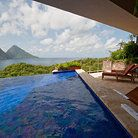 Jade Mountain Resort - St. Lucia.   This place looks amazing!