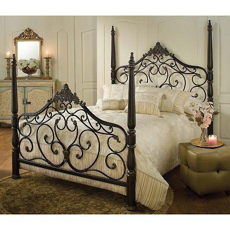 Hillsdale Furniture Parkwood Bed With Rails   King At HSN.com