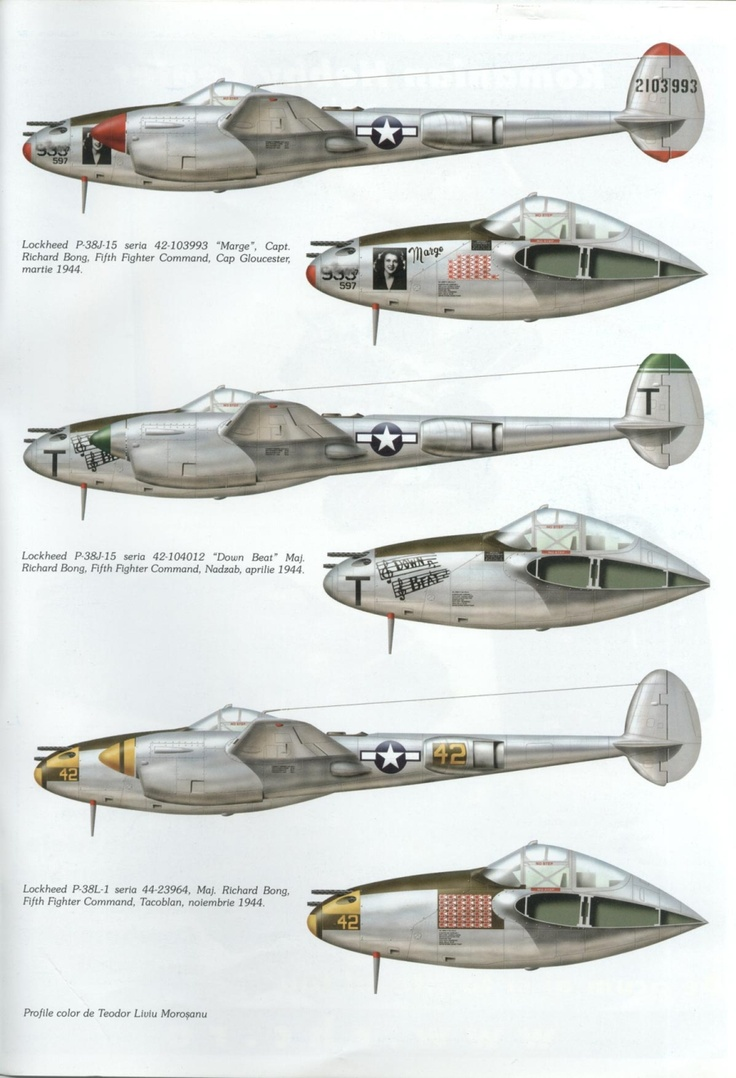 Great planes. P-38 Lightning by Lockheed