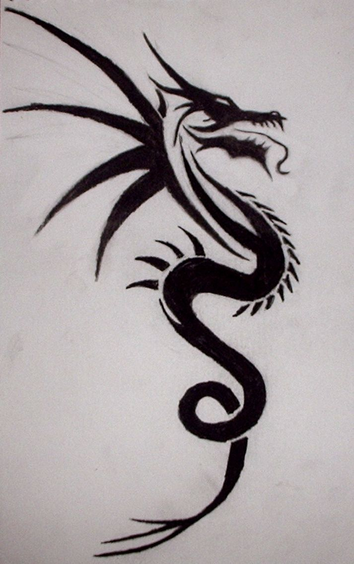 36 best Tribal Dragon Tattoos images on Pinterest | Tribal ...