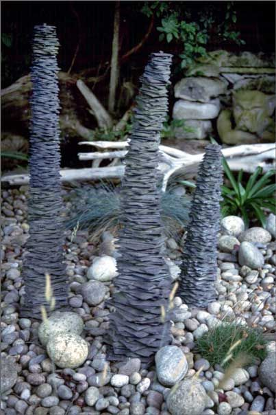 Slate Sculptures   Would Be Great In The Garden