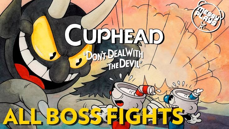 CUPHEAD: ALL BOSSES - No Commentary - MESSYPLAYS