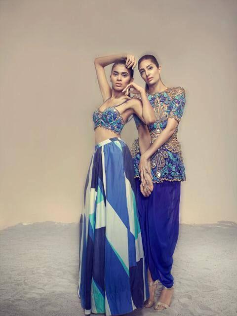 Arpita Mehta. LFW S/S 14'. Indian Couture.
