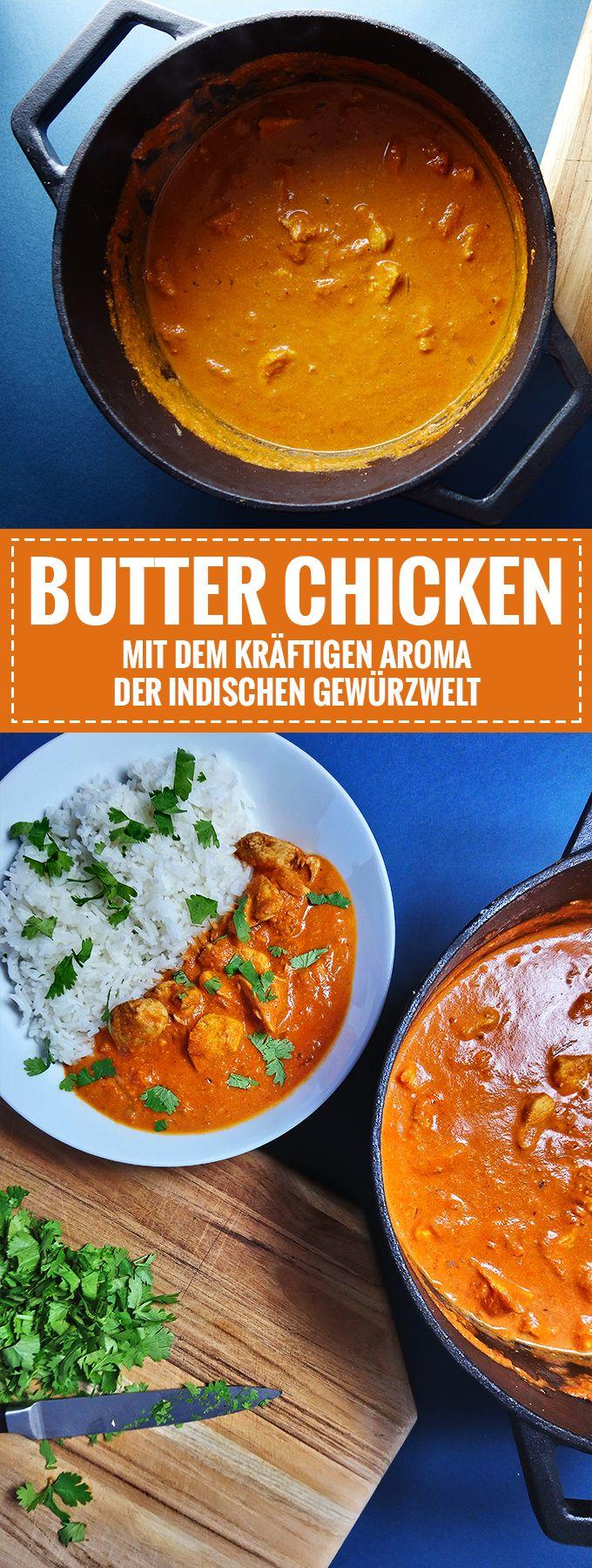 Indisches Butter Chicken // Aromatisch & Lecker //…