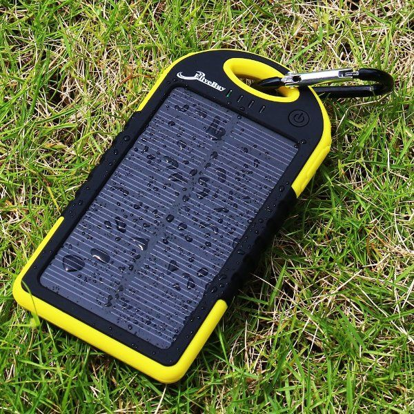 IP4 solar charger power bank