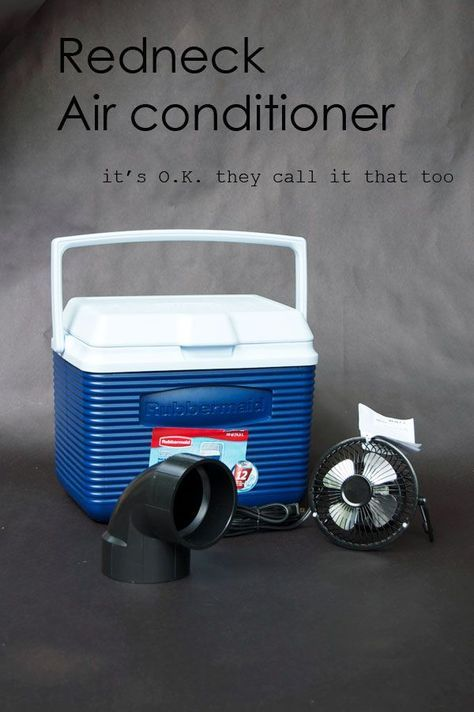 WHATEVER IT TAKES MAN... http://www.bkgfactory.com/category/Portable-Air-conditioner/ DIY Portable Bucket Air Conditioner
