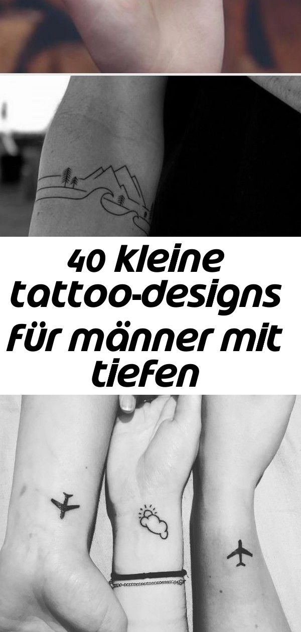 Tattoo männer kleines Kleine Tattoos