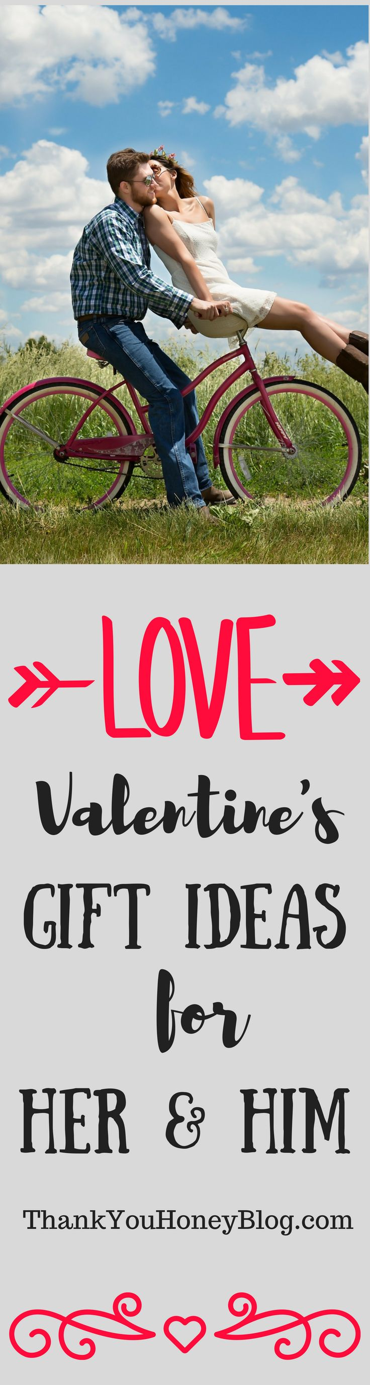Valentine's Gift Ideas for Her & Him! Check out this gift guide for your Valentine! #giftidea #valentinesday #giftsforher #giftforhim #giftguide