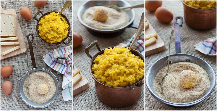 Polpette di riso alla zucca e toma per celebrare la Giornata Nazionale di Signora Polpetta.