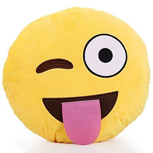 Emoji Emoticon Smiley Plush Pillows - CLICK HERE FOR AWESOME GIFT IDEAS!!! Best Gifts and Toys for Tween Girls - The Perfect Gift Store: